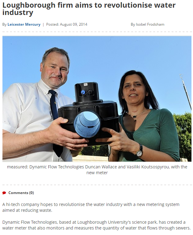 Loughborough firm aims to revolutionise water industry