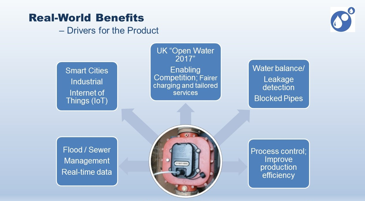 Real world benefits - Drivers for the wastewater meter