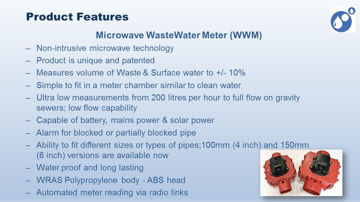 Wastewater Meter product features